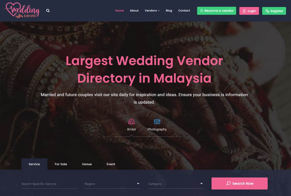 Wedding Beats 3.0 with a new look and fresh features