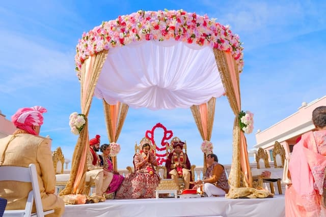 indian wedding theme