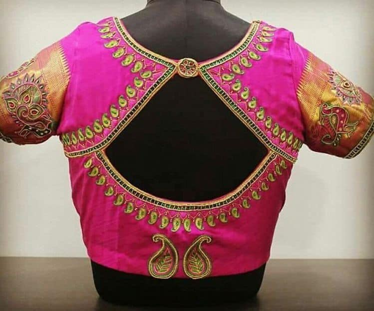 traditional blouse design