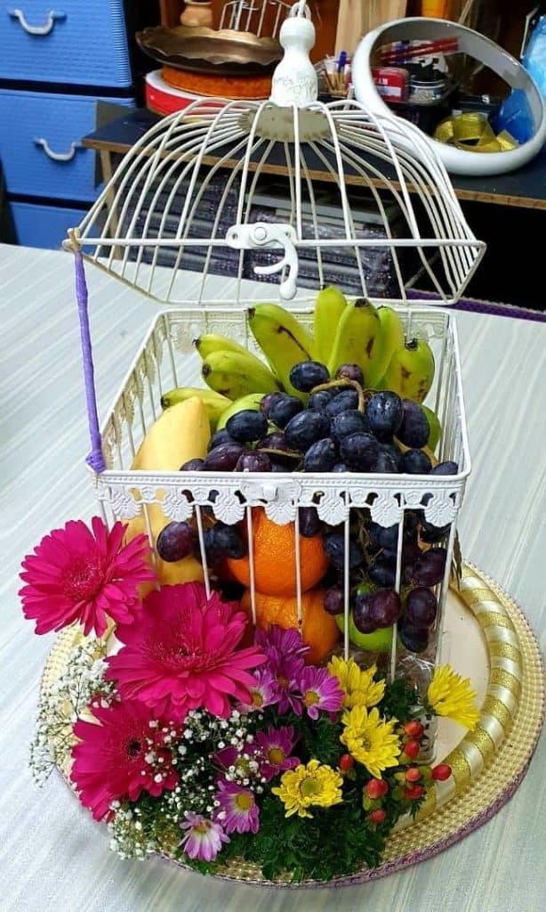 Fruit Basket Engagement Tray