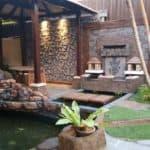 Bali garden hall